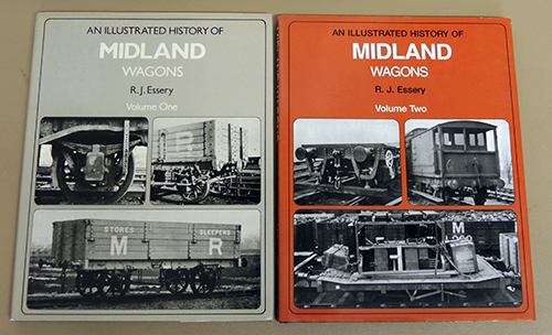 Image for An Illustrated History of Midland Wagons Volume One and Volume Two