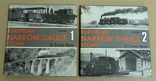 Image for European Narrow Gauge Steam Volumes 1 and 2 (2 Volume Set)