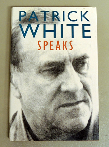 Image for Patrick White Speaks