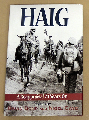 Image for Haig: A Reappraisal (Re-appraisal) 70 Years On