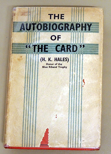 Image for The Autobiography of 'The Card'