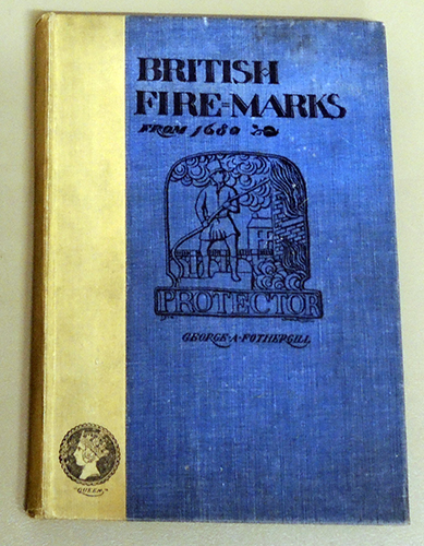 Image for British Fire-Marks from 1680