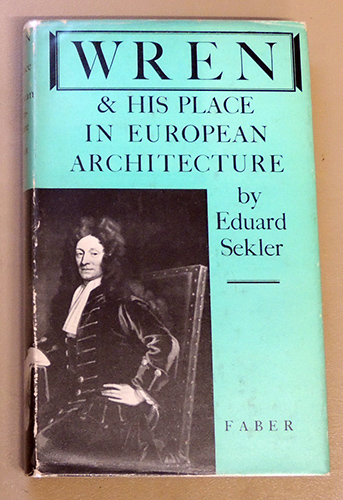 Image for Wren and His Place in European Architecture