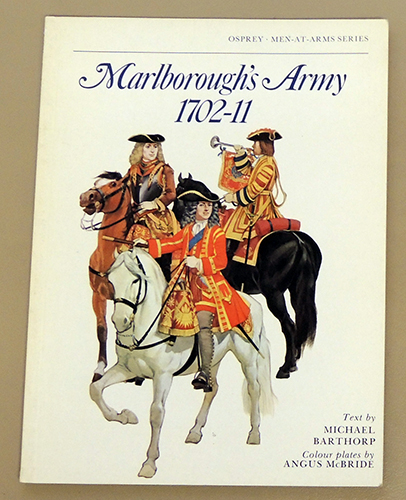 Image for Osprey Men-at-Arms Series: Marlborough's Army 1702-11
