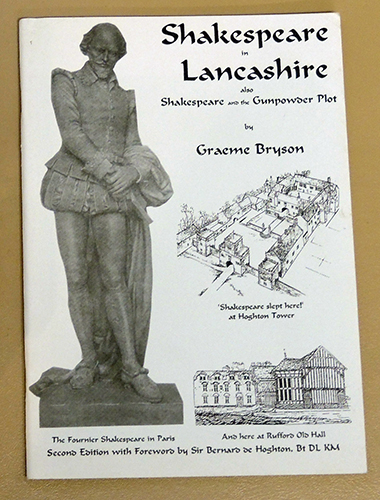 Image for Shakespeare in Lancashire. Also Shakespeare and the Gunpowder Plot