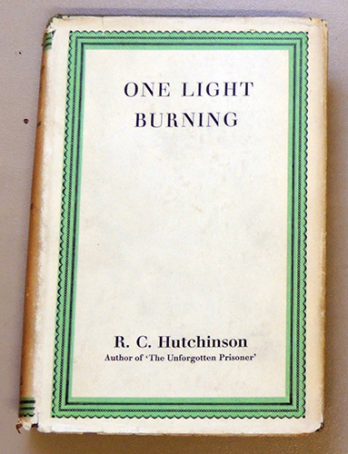Image for One Light Burning: A Story