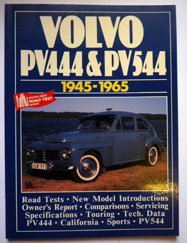 Volvo Road Test Book : Volvo PV444 and PV544 1945-65