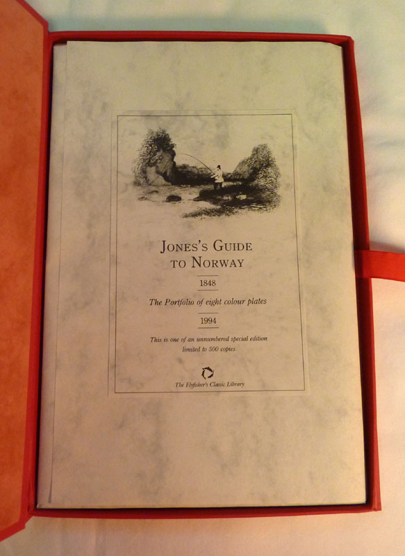 Image for The Flyfisher's Classic Library: Jones's Guide to Norway: The Portfolio of Eight Colour Plates